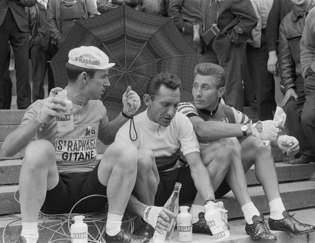 Seamus Elliott, Jean Stablinski And Jacques Anquetil, Tour De France 1963 Resize
